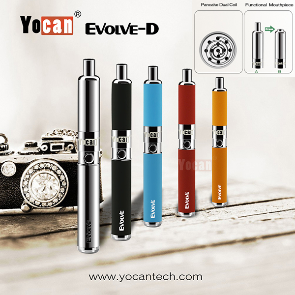 2016 Dry Herb E Cig Wholesale China / E-cig Dry Herb Vaporizer Pen / Dry Herb E-cigarette Yocan Evolve-D