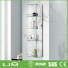 china online shopping economic stainless steel toilet shelf