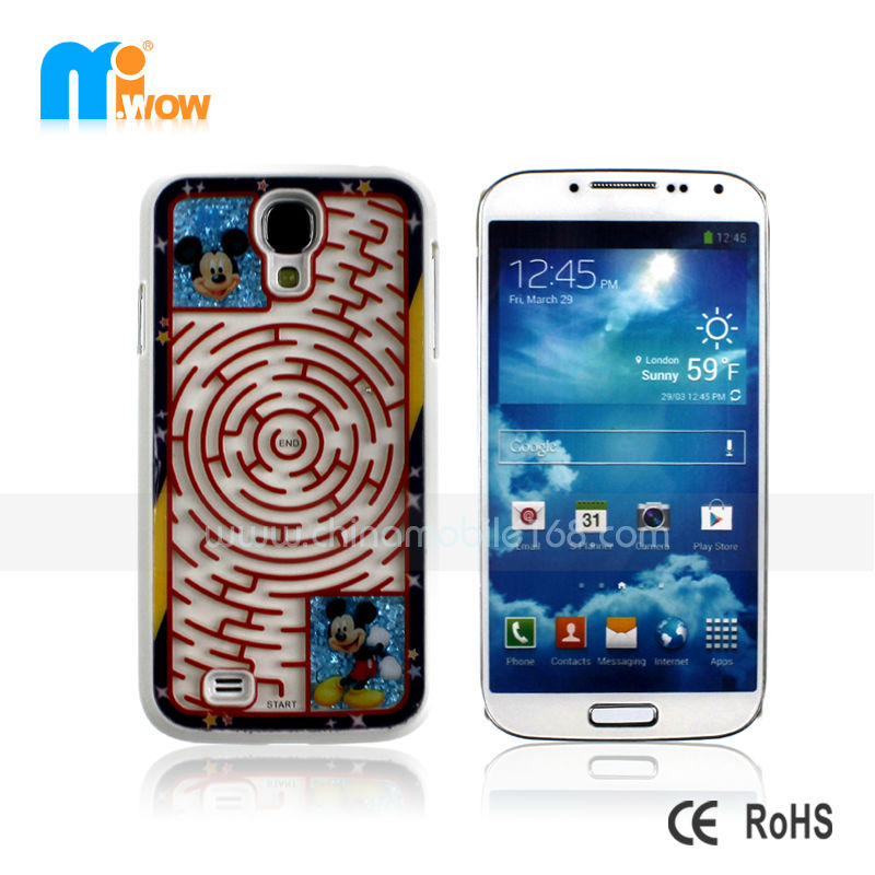 Funny games maze mobile phone case protector cover for samsung S4