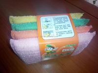 kitchen cleaning products nylon scouring pad heat pads