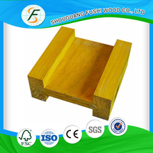Best Price Yellow Painted Pine Formwork H20 Beam For Constriction Beam