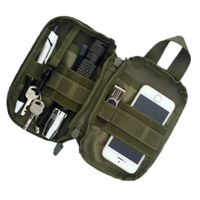 Multifunction Tactical Molle Pouch Bag EDC Utility Military Waist Bag Fanny Pack Cell Phone Bag