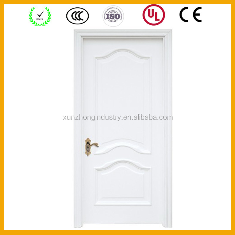 main single design solid wood door for exterior position