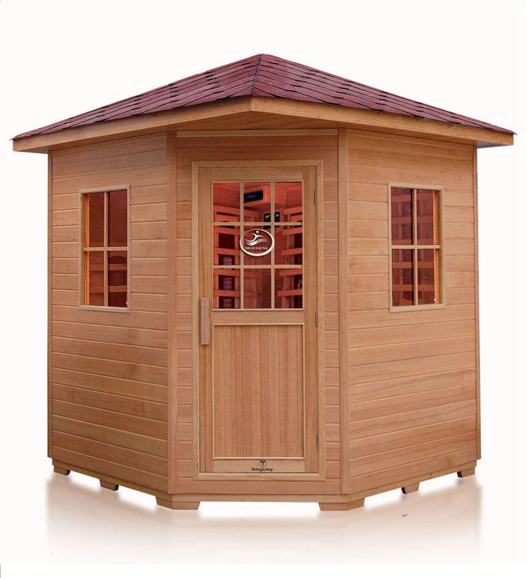 Finland wood sauna room outdoor steam sauna sauna cabin for Sauna for house