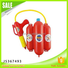 New products summer fire fighting water gun toy backpack for wholesale