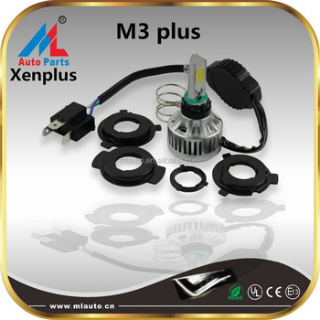 Motor high power head light lamp M3 plus dual beam 32W 3000lm led motorcycle headlight kit