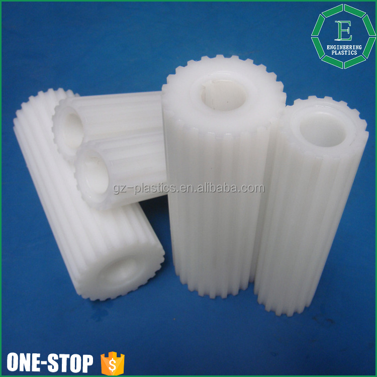 Guangzhou OEM and ODM plastic pe tooth wheels round machined uhmwpe gear for engineering
