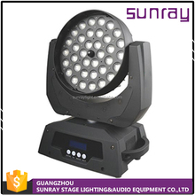18 Channel Full-Color 36Pcs 12W 4 In 1 Rgbw High Brightness Stage Zoom Led Moving Head Light