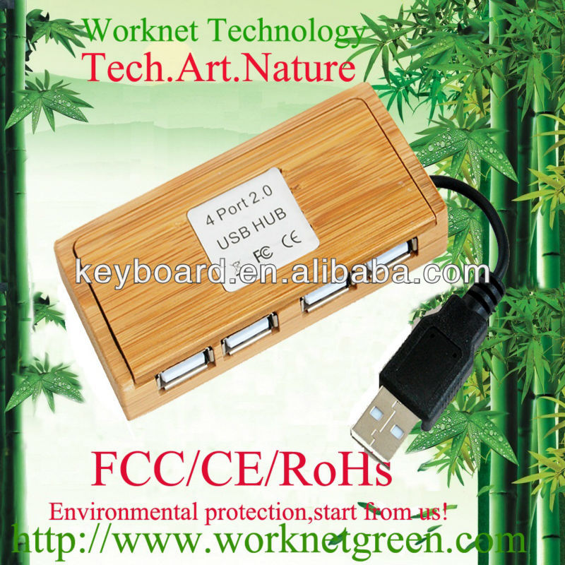 2015 most popular bamboo wooden USB hub in China