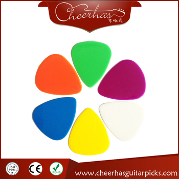 Various Colors And Thickness Blank Nylon Guitar Picks
