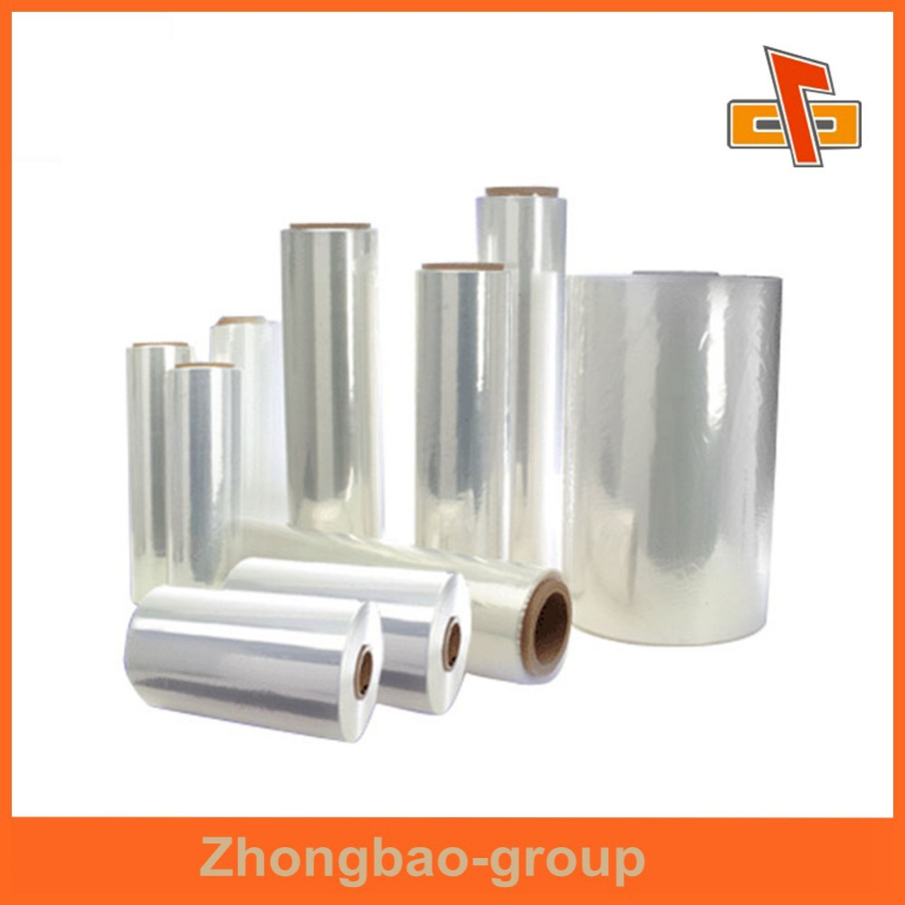 China manufacturer OEM factory accepted custom order plastic POF shrink film for tableware packaging
