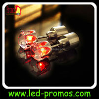 Wedding party novelty flashing led earring glowing in the dark
