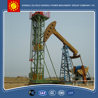 Total Weight 11.5T Rated Polished Rod Load 14 (10kn) oil field pumping units