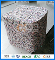 Mixed color shredded pu foam scarp for cushion fillings