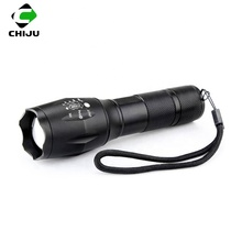 2000 Lumen High Power New Military Grade Zoomable Tactical Flashlight with Holster