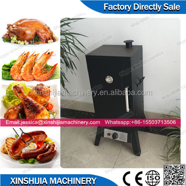Hot sale outdoor home use gas meat smoker