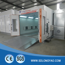 European standard car spray booth auto painting baking oven