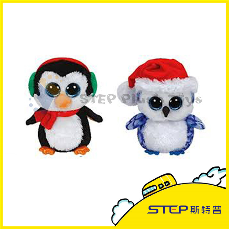 Lovely Christmas Penguin Stuffed & Plush Toy Nice Christmas Gift