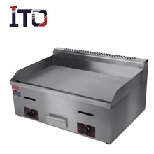 CI-720 Discount Table Top Stainless Steel Commercial Flat Plate Teppanyaki Gas Griddle