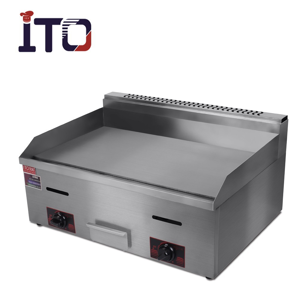 CI-720 Stainless Steel Commercial Flat Plate Teppanyaki Gas Griddle