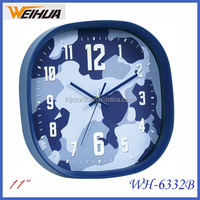 Cheap round 11 inch clock for advertising