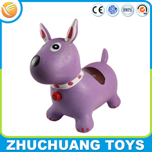 cheap wholesale giant large plastic inflatable toy horses dog