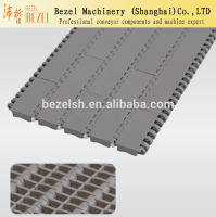 900 type 27.2mm pitch pp pom plastic flat modular belt conveyor belt conveyor parts components