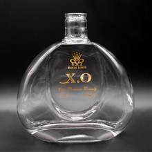 Factory Wholesale clear glass bottles for vodka/liquor