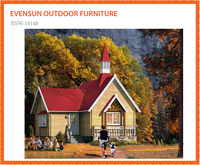 Wholesale price Double floor leisure wooden house price