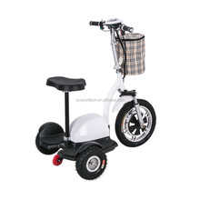 Sunport electric scooter parts 350w three wheel electric scooter