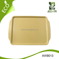High Quality Biodegradable Bamboo Fiber Serving Tray