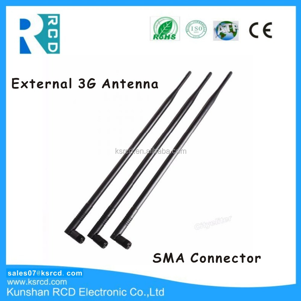 External 3G Antenna Long Range 3G Indoor Antenna 9dBi With RP-SMA Connector