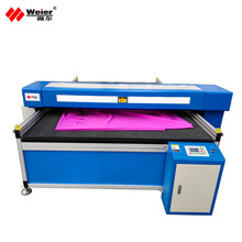 Textiles Cotton Silk Felt home fabric laser cutting machine with CE