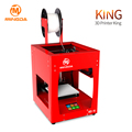 Bulk printer 3D price, MingDa high quality MD-16 3d printer in PLA 0.05mm precision