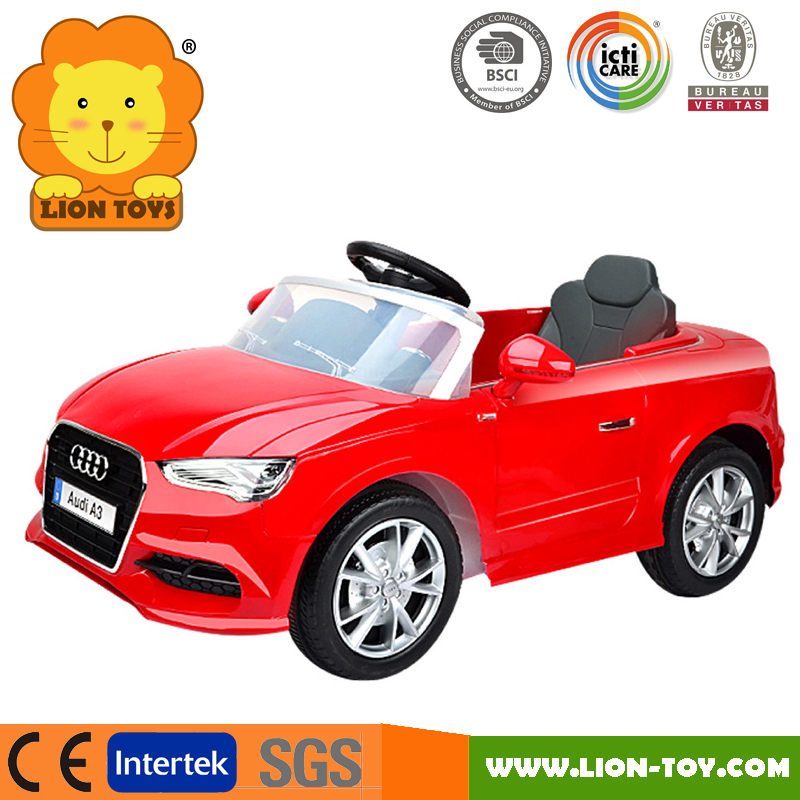 New Licensed Audi A3 Children car musical 2.4G Radio control electric ride on car for kids