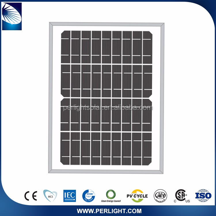 Perlight Competitive Price 12V 10W Solar Panel