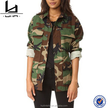 china top ten selling products embroidered leather stars camo jacket women