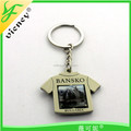 Promotional Hot Sale Custom 3D Metal Keychain, souvenir keychain