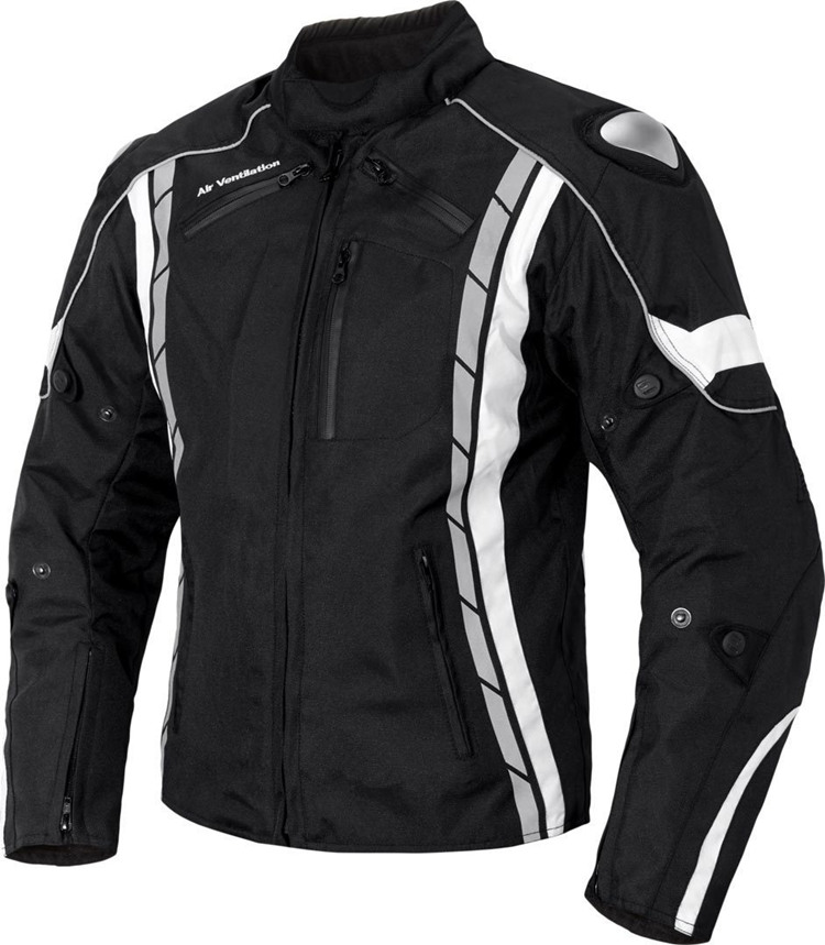 Wholesale custom windproof waterproof textile cordura motorcycle jacket