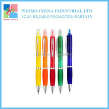 Factory Supply Cheap Custom Promotional Gift Pen With Highlighter