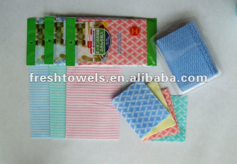 lint free cleaning wiper cloth spunlance nonwoven fabric