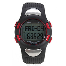 Heart rate monitor digital outside multifunctional sports fashion watches waterproof Free Sample