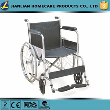 JL Manual steel wheel chairs for people with disabilities JL809T