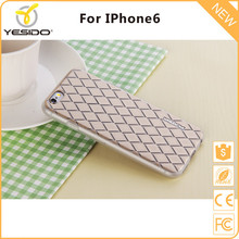 2017 Trending products 3d tpu imd sublimation plastic mat case printed for iphone 6 case