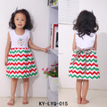 Baby Remake Clothing Summer Remake Dress Girl Chevron Dresses