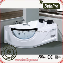 Computer control panel cheap price whirlpool massage bathtub (R8719)