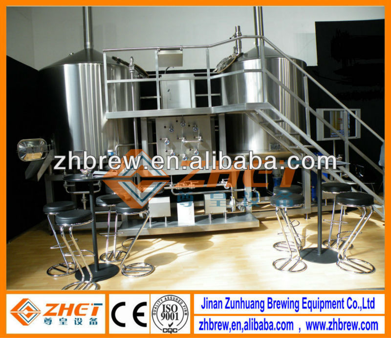 100L mini stainless steel home beer brewing equipment CE