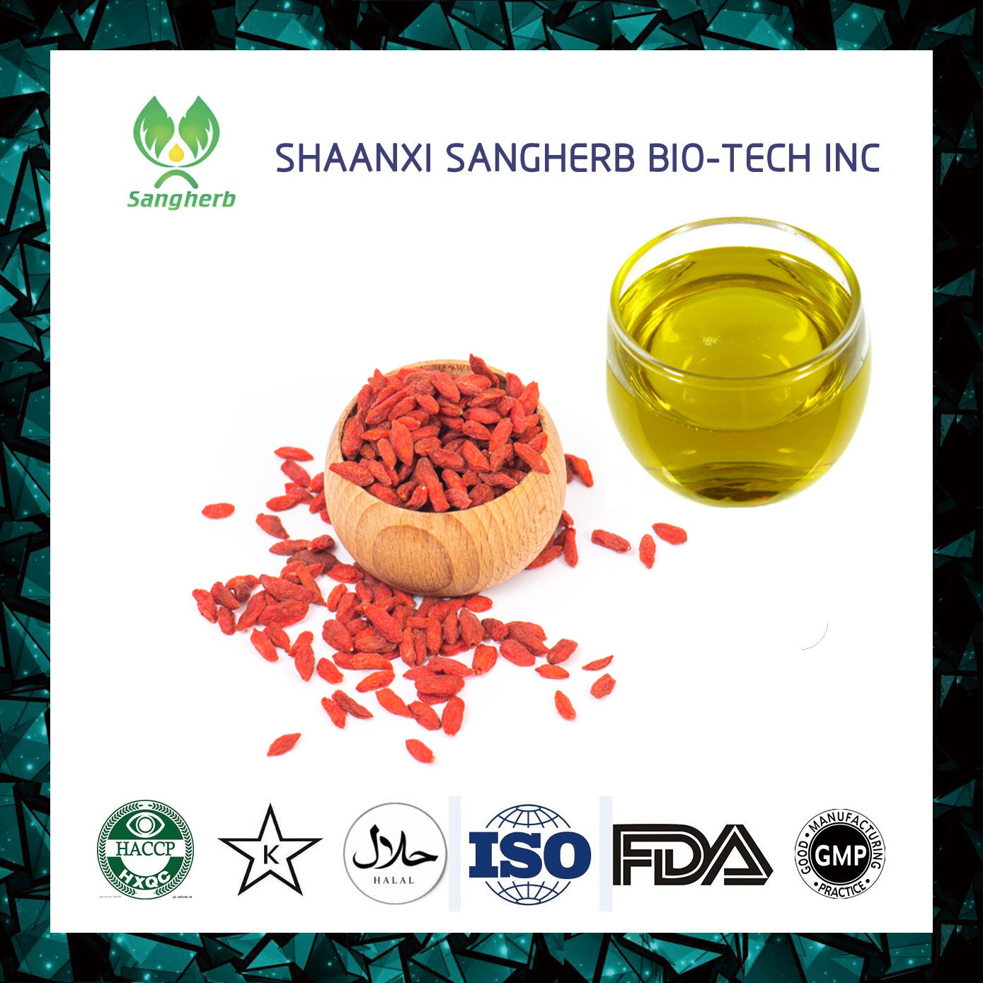 high density ISO&ampHACCP Cerfication manufacturer Best Supplier you can trust new harvest goji berry for food
