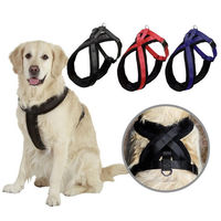 Large Dog Walk Collar Chest Strap Vest Adjustable Control Soft Vest Dog Harness