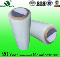 LLDPE Stretch Film, Transparent Shrink Film, White Stretch Film Pallet Wrapping